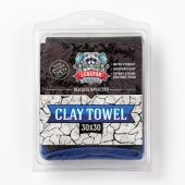 Полотенце-автоскраб CLAY TOWEL 30x30 Leraton